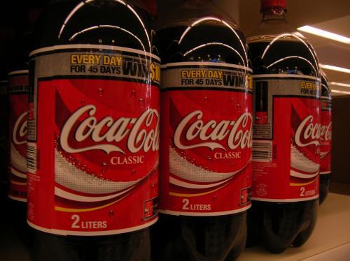 Coca cola 2 litre bottles x3 for £3 at tesco