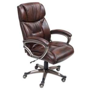 Mayfair Leather-faced Executive Chair £100 delivered (was £300) plus Quidco @ Staples online