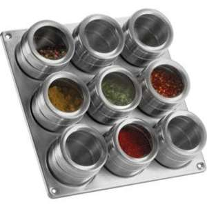 argos Magnetic Steel Spice Rack was £19.99 now £9.99
