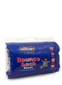 Silentnight Bounchback 13.5 Tog Duvet (BHS £19.80 WITH CODE was £55.00 collection from store)