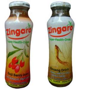 Zingaro Goji Berry Juice Super Health Drink 250ml 10p @ Home Bargains Instore