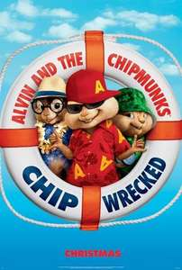 Alvin And The Chipmunks: Chipwrecked for  1 pound @ Cineworld