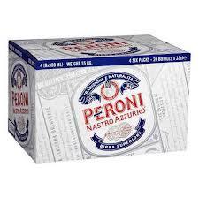 Case (24 x 330ml bottles) Peroni Nastro Azuro £24 Bargain Booze