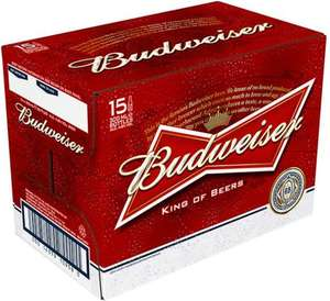Budweiser 15X300ML bottles £7.52 @ Costco in-store