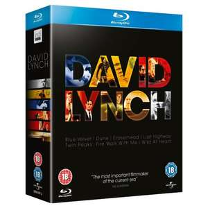 David Lynch Collection Blu-ray box set £14 @ AmazonUK