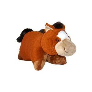 Official Pillow Pets 18-inch Sir Horse (Brown/Beige) 6.53 del @ Amazon
