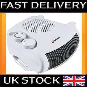 2000W PORTABLE SILENT ELECTRIC FLOOR FAN HEATER HOT & COOL UPRIGHT on EBAY (GetDirect) - £9.68