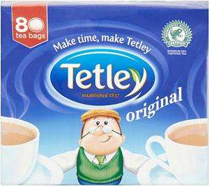 Tetley tea bags £1.39 for 120 bags @Aldi