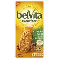 Belvita wholegrain breakfast biscuits crunchy oats (300g) NOW ONLY £1.00 @ Asda