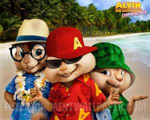 Alvin and the Chipmunks: Chipwrecked Tickets £1!!!! @ Cineworld