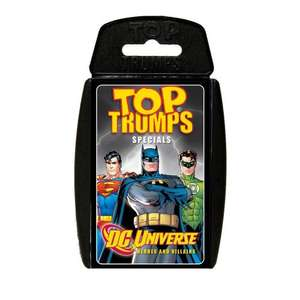 Top Trumps DC Universe: Heroes And Villains £2.81 from £3.99 @ Amazon