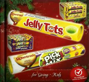 Rowntree's jelly tot's + fruitpastilles + Many others (130g tubes) only 30p instore @ sainsburys