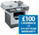 Brother multifunction laser printer £270 (additional £100 cashback available) @ Printerbase