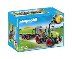 Boots - Glitch - Playmobil Giant Tractor with Free Calf Pen 5121 - Priced £30 - Scans at £7.50