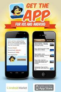 HolidayPirates.com App now available for iOS and Android devices