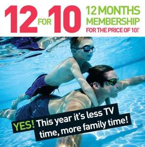 David Lloyd - 12 months for the price of 10!