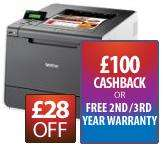 Brother HL4140CN Colour Laser Printer (- £100 cashback via redemption) £199 @ Printerbase
