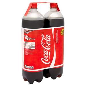 Coca-Cola & Coca-Cola Light 2x 2l for £2.00 @ Morrisons