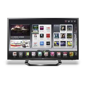 LG 42LM620T 42-inch LED 3D Smart TV with Freeview HD £499 @ Amazon