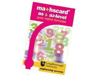 Free AS/A2 Level Maths card Formula Book @ maths card