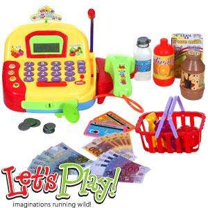 Let's Play Cash Register & Accessories @ home bargains for £8.99