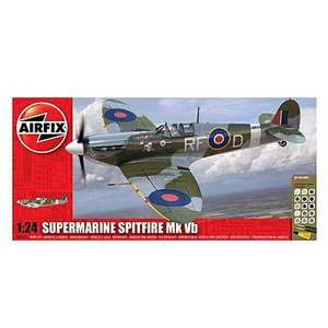 Airfix Spitfire Vb 1:24 at Debenhams £18.00 delivered +8% Quidco
