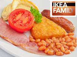Free Ikea breakfast for Family card holders