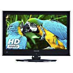 "Sainsbury's Celcus LED19S913DVDHD 19"" HD Ready LED TV with Integrated DVD Player £99.99"