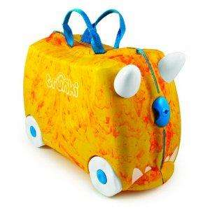 Trunki Trunkisaurus Rox Ride-on Suitcase - Orange - AMAZON - £19