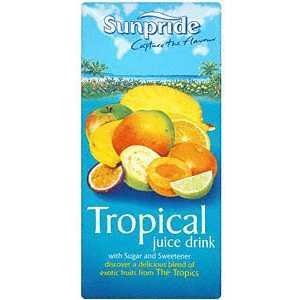 Sunpride Tropical Juice Drink 1 Litre for 39p @ Home Bargains