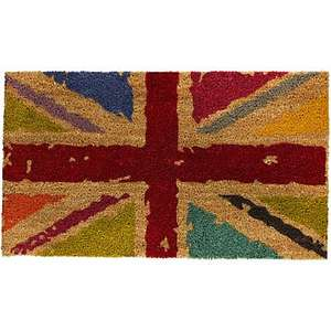 John Lewis Union Jack Doormat £2.50 (Click & Collect In some stores)