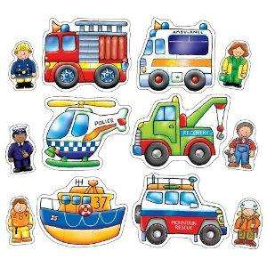 Orchard Toys Rescue Squad Toddler Jigsaw Puzzle Set now £3.89 del @ Amazon