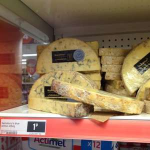 Sainsburys Blue Stilton Cheese 1p 454 g