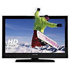 "Celcus LCD329032 32"" Full HD 1080p LCD 3D TV with 4 Pairs of 3D Glasses 169.99 SAINSBURYS"