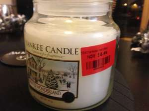 Yankee Candles - Boundary Mills - Over 50% off RRP (instore only, no online shop) - Medium Jars for £8.49!