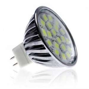 4 Watt MR16 LED Bulb - Wide Beam Angle (50 Watt Replacement) - £7.09 delivered @ ledhut + 2 year warranty +  10.1% TCB