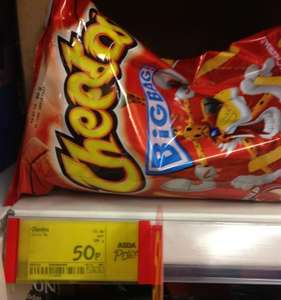 Cheetos - Ketchup Flavour Big Bag 90g - 50p per bag instore at Asda