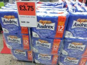 Co-op - 12 Pack Of Andrex Toilet Roll - £3.75 at co-operative