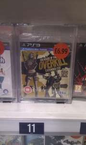 House of the Dead overkill PS3 game just £6.99 in Sainsburys