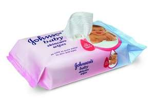 Johnson baby wipes 89p in Boots Stevenage