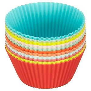 Silicone Jumbo Cupcake Cases, Set of 12 was £9 now £2.50 @ John Lewis