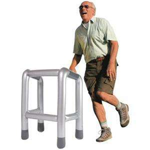 Inflatable Zimmer Frame from play.com £4.49