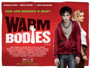 Free Screening - Warm Bodies - Thursday, 31 January 2013 at various times  - Slackers club (need to be a slackers club member)