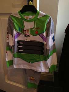 Buzz Lightyear Pyjamas reduced from £9 to £4 instore at Tesco
