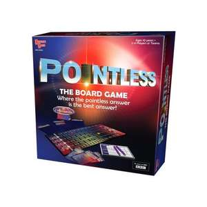 Pointless Board Game £9.99 at Amazon RRP £19.99