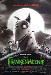 Tim Burton's Frankenweenie only 90p (no booking fee) this weekend @ Cineworld