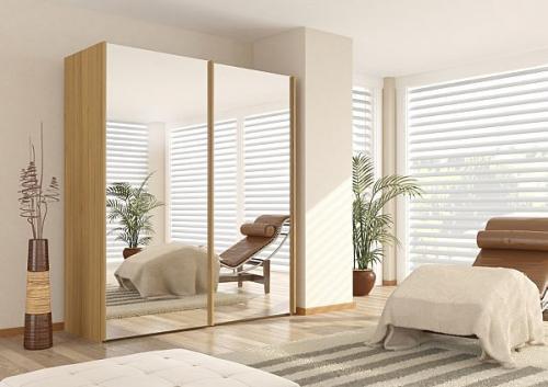 Large sliding door wardrobes reduced at ASDA, starting at £183 delivered