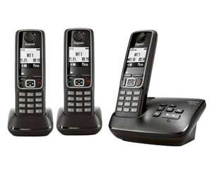 Gigaset A420A Trio DECT cordless phones £34.99 from Currys/PC World