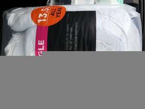Asda 13.5 Tog Single Duvet (Not Smart Price) at Asda Instore - £8
