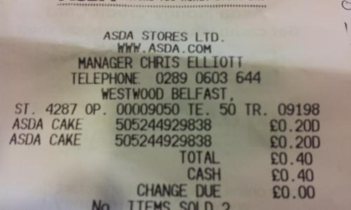 4 Scottish Pineapple Tarts 20p instore @ Asda